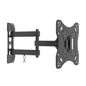 TV Wall Mount Bracket Single Arm 24-43 Inch Full Motion price in sri lanka