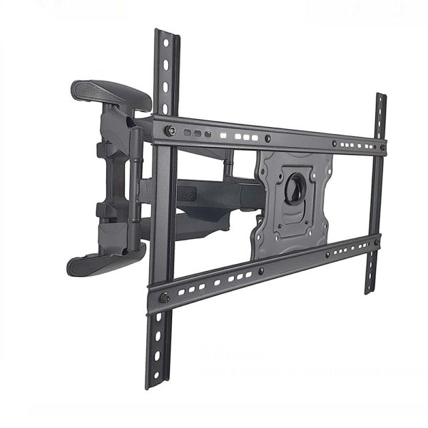 TV Wall Mount Bracket Double Arm Flat Panel 27-55 Inch Heavy Duty Full Motion price in sri lanka