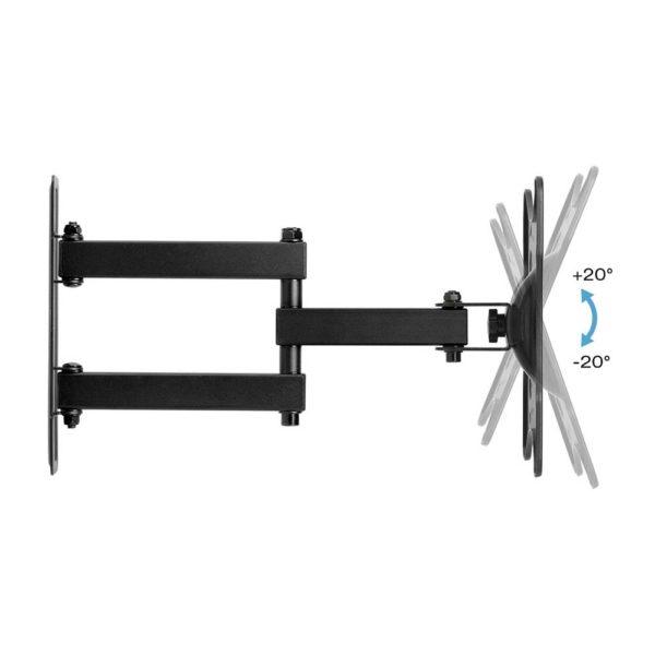 TV Wall Mount Bracket Single Arm 24-43 Inch Full Motion price in sri lanka