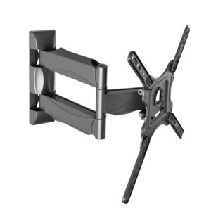 TV Wall Mount Single Arm X Support 32 – 52 Inch Full Motion - NB P4
