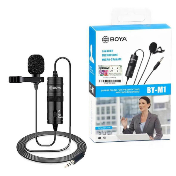Boya BY-M1DM Dual Lavalier Microphone price in sri lanka