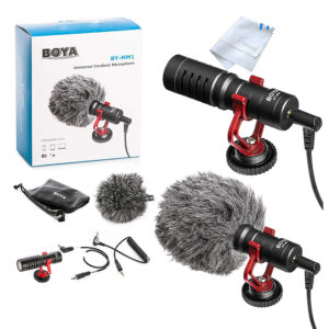 BOYA BY-MM1 Cardioid Condenser Microphone price in sri lanka