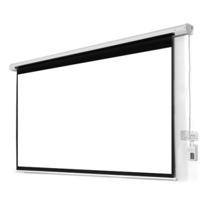 Motorized Remote Control Projector Screen 10 Feet