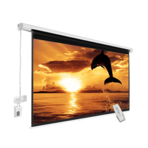 Motorized Remote Control Projector Screen 12 Feet