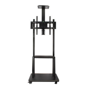 Trolley Movable TV Stand Cart LCD LED Bracket up to 65″ Inch