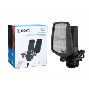 Original BOYA BY-M1000 Large Diaphragm Condenser Microphone